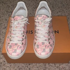 Authentic Louis Vuitton Tahitienne Sneakers